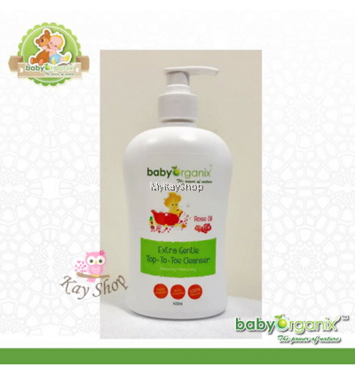 Baby Organix - Extra Gentle Top To Toe Cleanser
