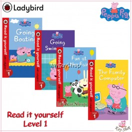 Peppa Pig: Read it yourself with Ladybird Level 1