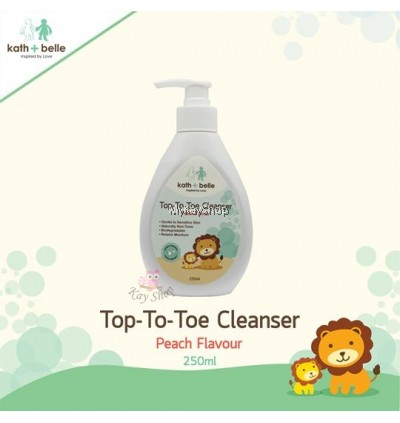 Kath + Belle Top to Toe Cleanser (Peach)