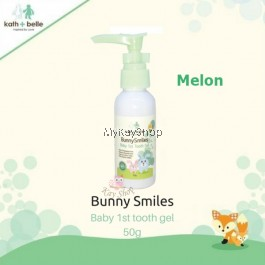Kath + Belle Bunny Smiles Baby 1st Tooth Gel