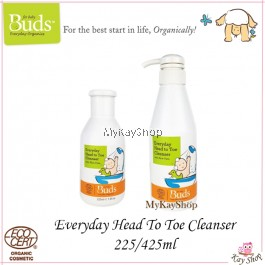 Buds Everyday Head to Toe Cleanser (225ml / 425ml)