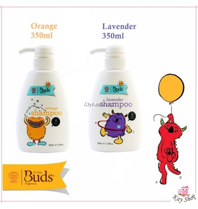 BUDS for Kids Shampoo Lavender / Orange 350ml