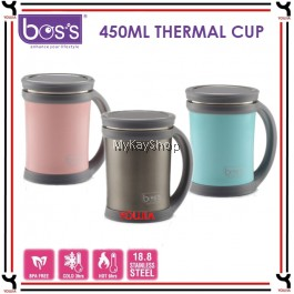 BOS'S 450ml Stainless Steel Thermal Cup